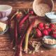 Erdbeer Rhabarber Crumble Rezept